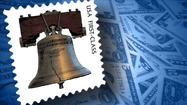 Postage rates post their first decline in nearly 100 years