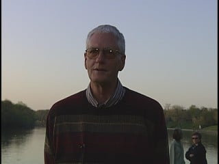 Tom McFeggan in a 2006 interview he did with 13 News.