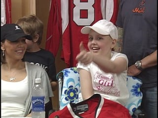 Sydney Ives was named an honorary IceHog for a day back on May 20, 2009.