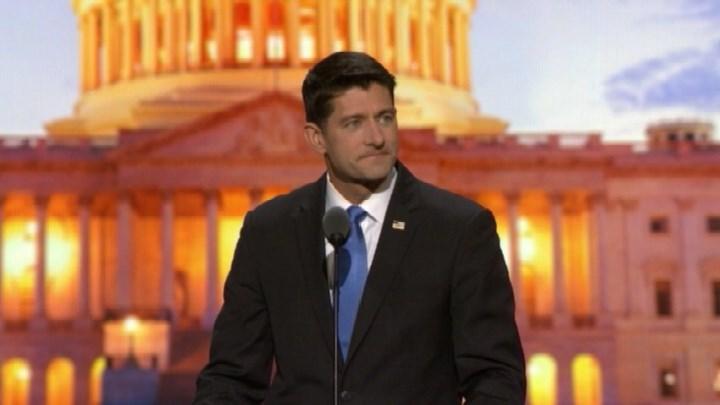 House Speaker Paul Ryan (R) of Wis.