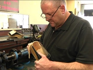 Tom Giamalva, owner of Palace Shoe Repair, says the city's worse off now than in the 1980s.