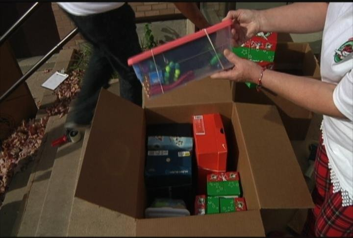 Columbus churches collect gifts for 'Operation Christmas Child'