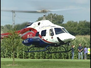 Two teens were killed, and one was flown to OSF Saint Anthony Medical Center.