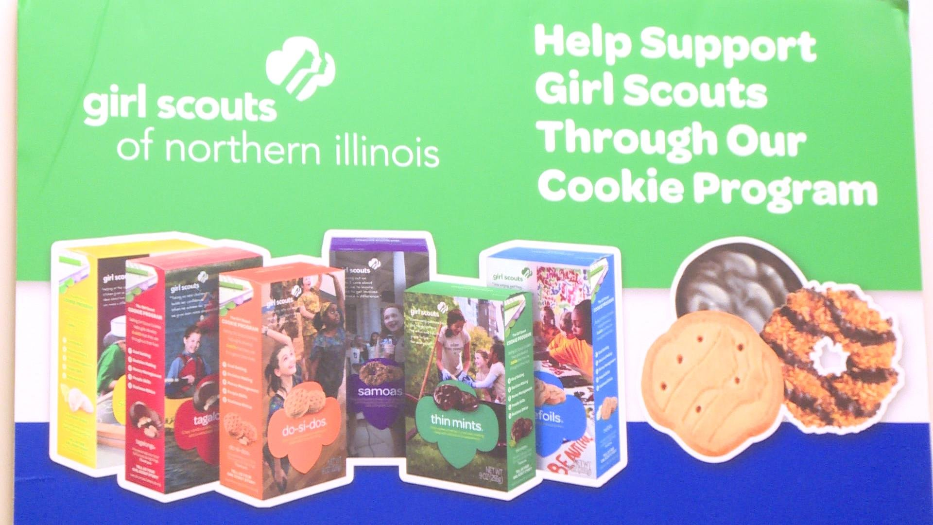 Girl Scouts celebrate 100 years of cookie sales