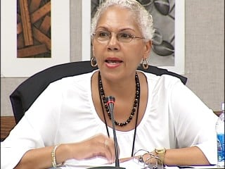Dr. LaVonne Sheffield won't comment on Symonds claims but says in Symonds case, the hiring process was followed.