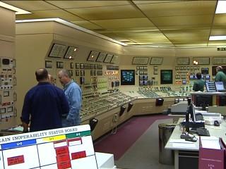 Byron generating station control room.