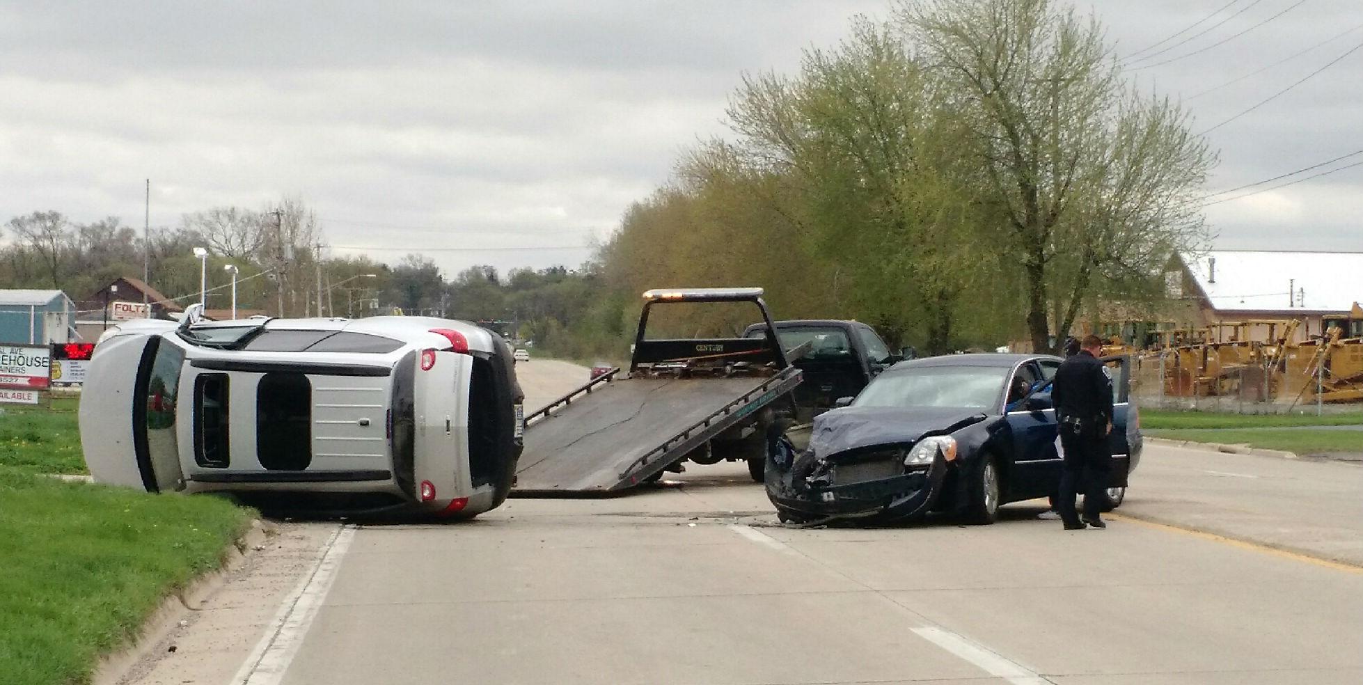 Crash near Central and Auburn