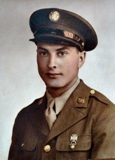 World War II Staff Sergeant LaVerne Selquist