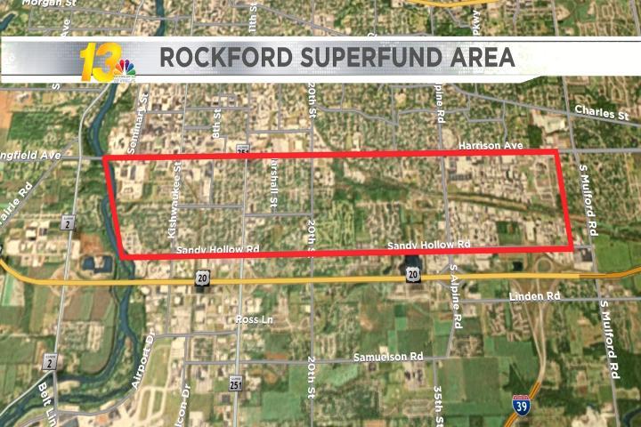 Rockford Superfund Site