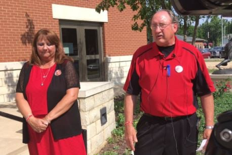 Megan Wells' parents attended each court hearing wearing red, which they say was Megan's favorite color.