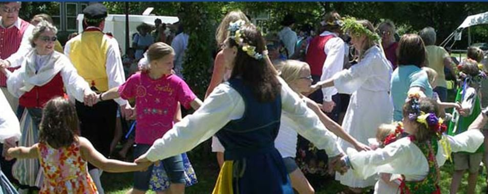 Midsommar Festival continues Saturday with car show, dance around maypole