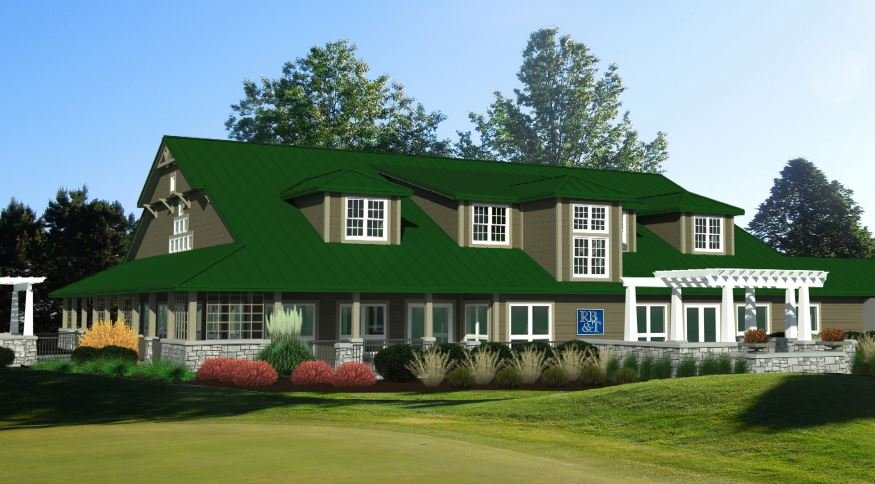 Rendering of new Rockford Bank & Trust Pavilion at Aldeen Golf Club driven by Giovanni's
