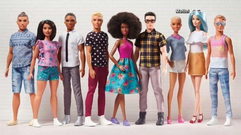 Mattel gives Ken doll a makeover