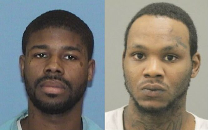De'Von Hale (wanted), Jaison White (arrested)