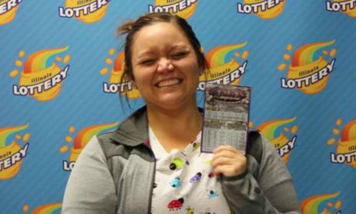 Laura Carroll, lotto winner