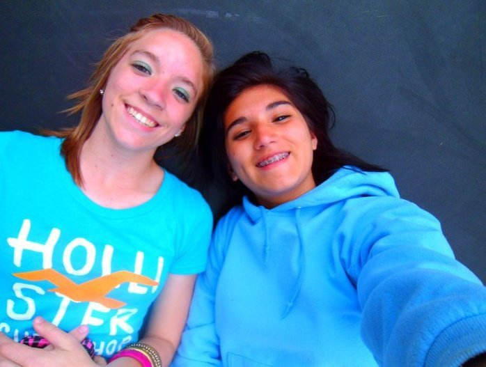 Hannah Kendall (left) and Jade Garza (right) courtesy of Facebook.com.