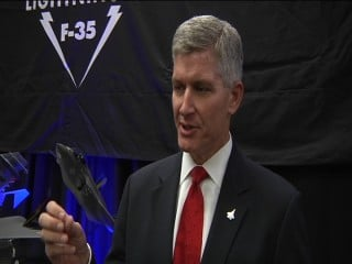 Stephen O'Bryan, Vice President, F-35 Program Integration and Business Development.