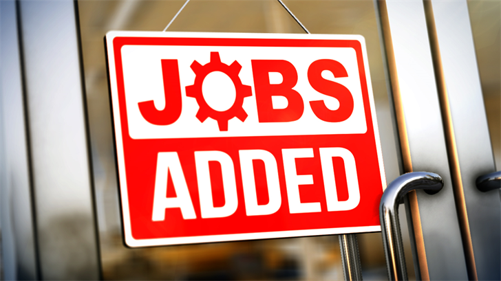 228000 jobs added in November, signaling strong growth