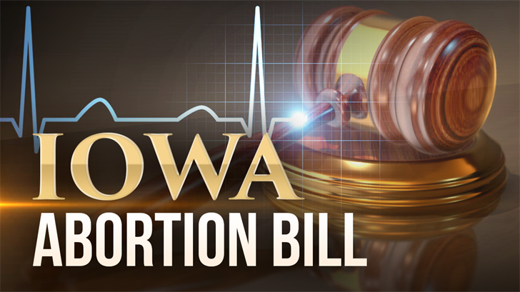 Iowa governor signs 'heartbeat' bill banning most abortions