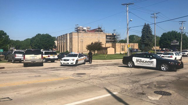 Police Officer Shoots Suspect Who Opened Fire At Dixon High School