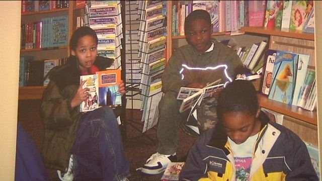 Pictures at RHA headquarters show children reading