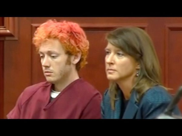 James Holmes makes his first appearance in court