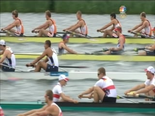 Olympic men's eight race.