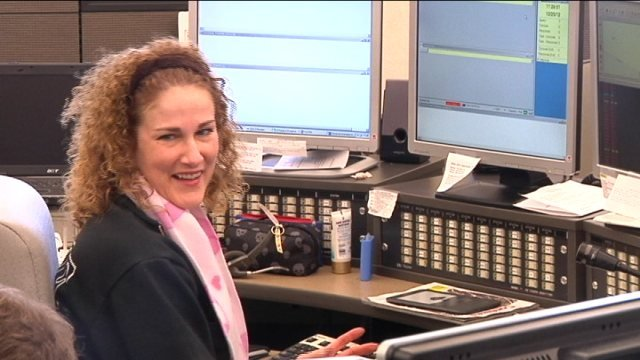 Rockford Fire Department 911 Telecommunicator Holly Johns-Frizzell