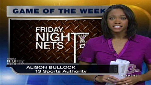 Alison Bullock on 13News January 2012.
