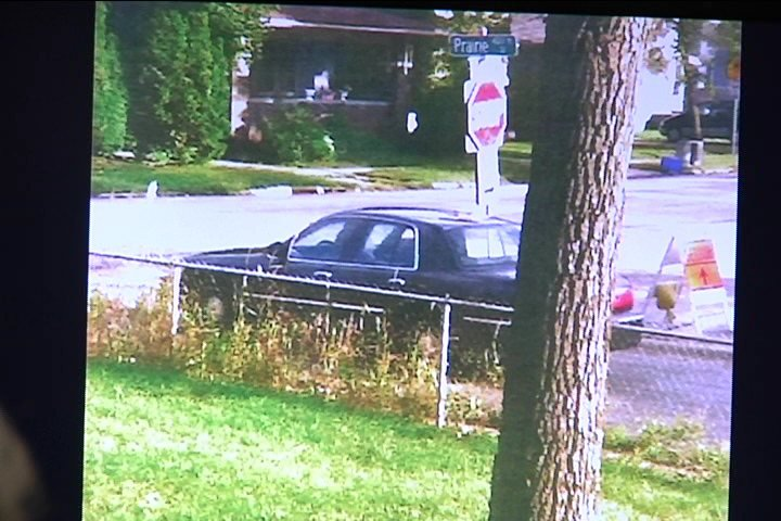 Witness photo of car Anding was riding in during shooting.