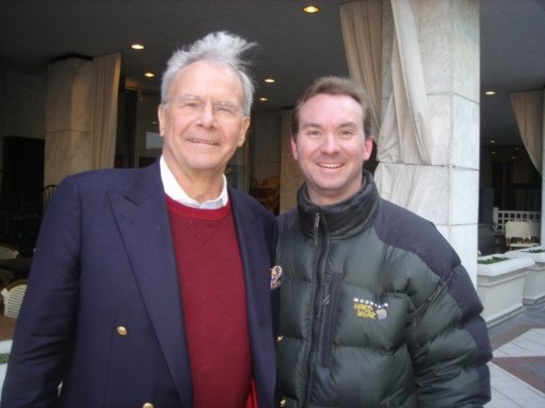 Eric with Tom Brokaw