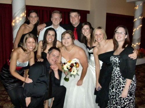 The WREX crew at my wedding!
