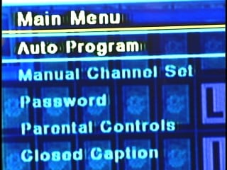 "Click ""Auto Program"" to begin scanning channels."