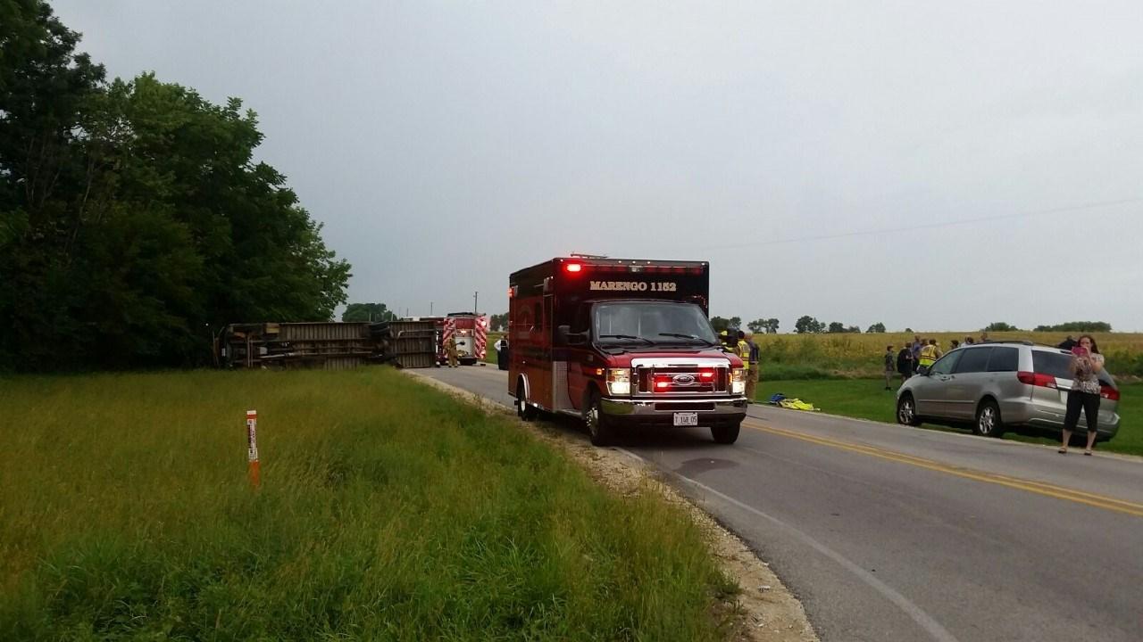 Illinois boone county belvidere - School Bus Crash In Boone County