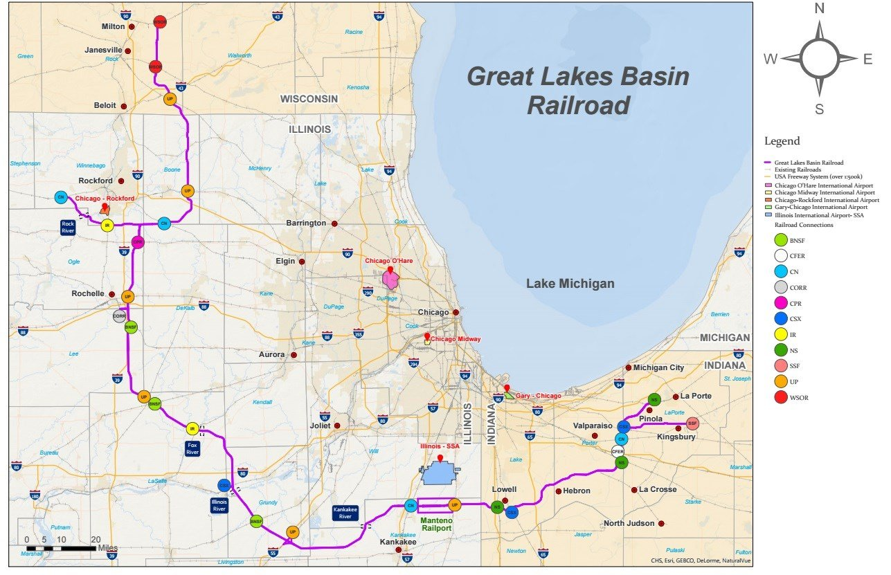 GLBT Route proposal maps WREXcom Rockfords News Leader