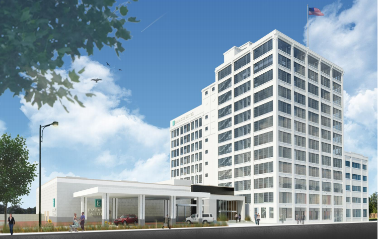 Plans For A Hilton Emby Suites Hotel Conference Center Revealed Downtown Rockford