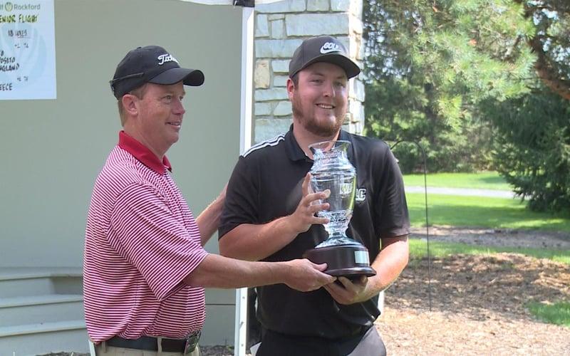 Garrett ralston wins aldeen cup in playoff kwwl for Champion motors waterloo iowa