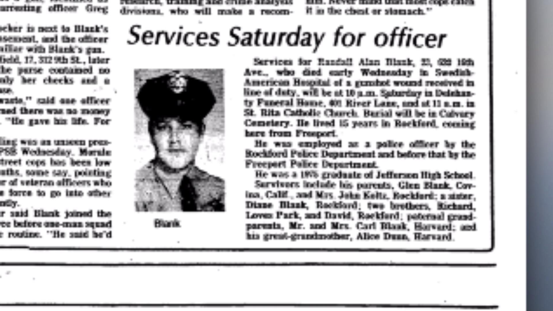 Never Forgotten: Remembering Rockford\'s fallen officers through ...