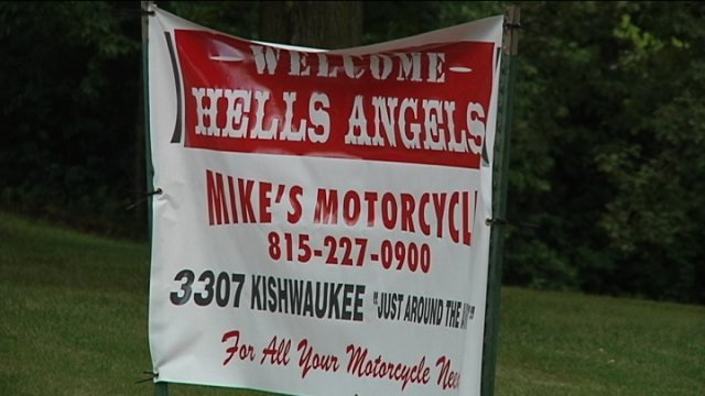Hells Angels Toys For Tots : Hells angels make their way into rockford wkow