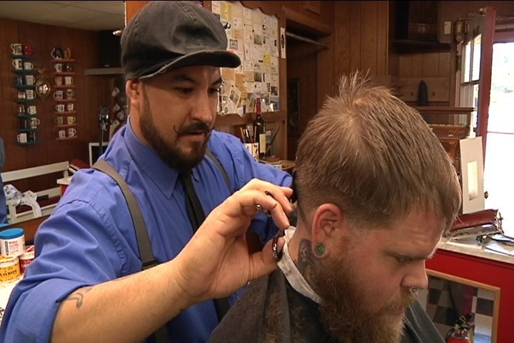 Barber Quincy : barber shop comes back to life in Cherry Valley - WGEM.com: Quincy ...