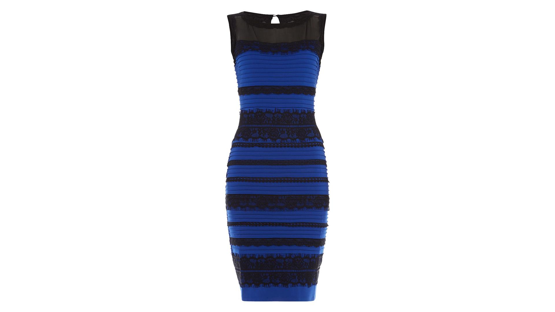 Black And Blue Dresses