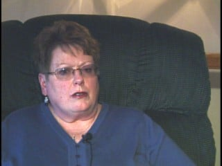 Carol McFeggan in one of several interviews she did with 13 News.
