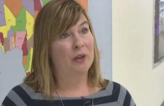 Teacher Courtney Samuelson